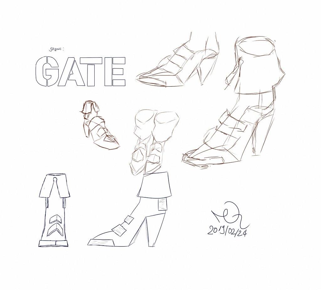 Drawings & Sketches (digital)